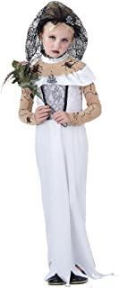 Bristol Novelty Cc855 Zombie Bride Child Costume, Large, 134 - 146 Cm, Approx Age 7 9 Years, L