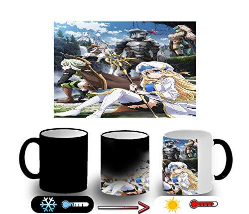 MERCHANDMANIA Magische Tasse Goblin Slayer Anime Charaktere Magic Tasse
