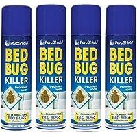 Spray para matar chinches, 200 ml (paquete de 4 unidades)