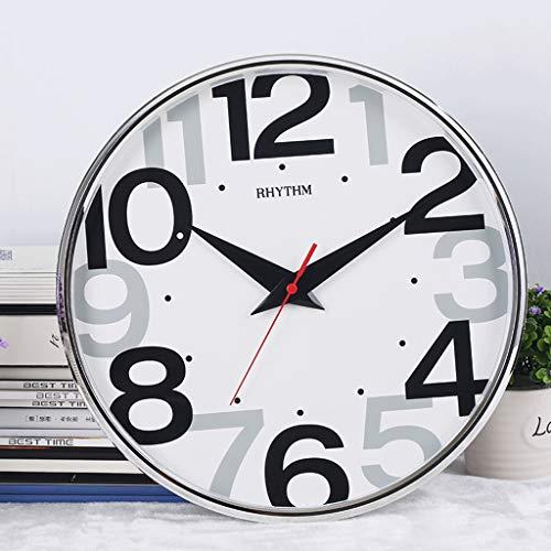 Lisheng Horloge Salon Chambre Moderne Suspendus Horloges Et Montres Simple Calme Grand Caractère Créatif Personnalité Horloge À Quartz (Couleur : A)