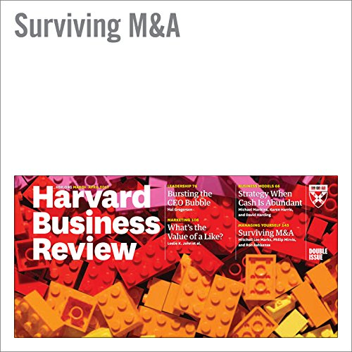 Surviving M&A audiobook cover art