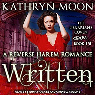 Written     Librarian's Coven Series, Book 1              Auteur(s):                                                                                                                                 Kathryn Moon                               Narrateur(s):                                                                                                                                 Cornell Collins,                                                                                        Sienna Frances                      Durée: 7 h et 21 min     1 évaluation     Au global 5,0