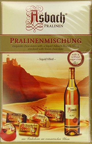 RCP Asbach Pralinenmischung, Mit und ohne Kruste, Flüssige Füllung, Alkoholhaltig, Tolles Geschenk, 250 g