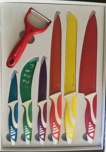 Set de Cuchillo de Acero Inoxidable 6 Piezas Diseño...