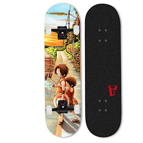 Xlyasky Anime Skateboard, Anime One Piece/Monkey D....
