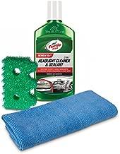 Turtle Wax 50736 Exclusive Headlight Cleaner & Scrub Daddy Restoration Kit , 9 fl. oz, 1 Pack