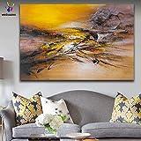 yaonuli DIY Pintar por númerosColor Abstracto, composición, Cuadro Abstracto 40x50cm Sin Marco