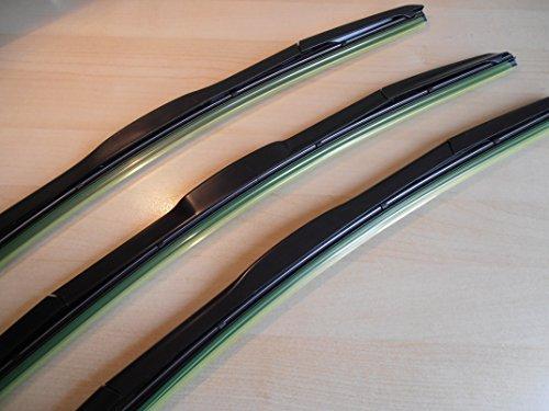 Hymer Latest Style set 3 spazzole tergicristallo ibrida, 20 x 50,80 x 50,80 (20 x 20 cm