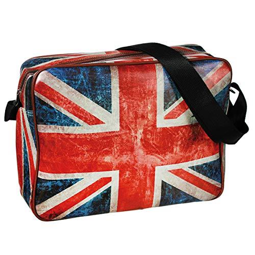 Preis am Stiel Umhängetasche Vintage ''Union Jack'' | Schultertasche | Damen Accessoire | Tasche für Damen und Herren | Tasche groß | Union Jack Tasche Schultertasche