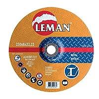 Leman 116049.05メタルMD用5枚組研削ディスク、オレンジ、126049.05