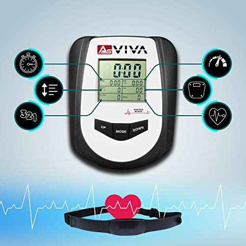 AsVIVA RA11 Rudergerät Ergometer Rower Cardio XI - 3