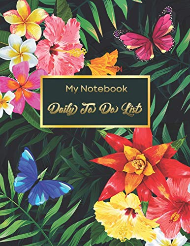 Daily To Do List Notebook: Daily Work Task Checklist | Daily Task Planner | Checklist Planner School Home Office Time Management | Checkboxes | ... (To Do List Prioritize Task Notebook, Band 2)