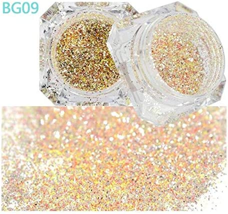 Gabcus 1Box Laser Nail OFFicial store Glitter Mixed Import N Glitters Holo Sequin