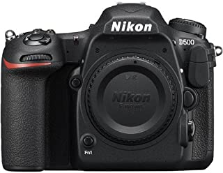 Nikon D500 Body Only - 20.9 Megapixel, DSLR Camera, Black