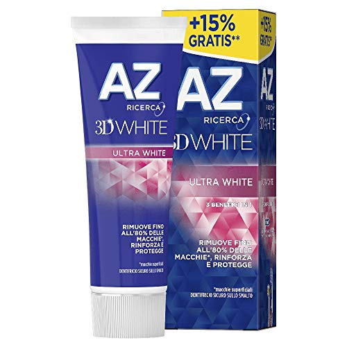 Az Dentifricio 3D White Ultra White, 75ml