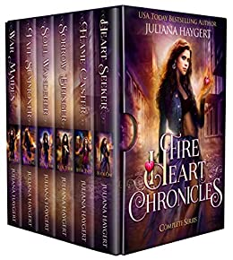 The Fire Heart Chronicles: The Complete Series by [Juliana Haygert]