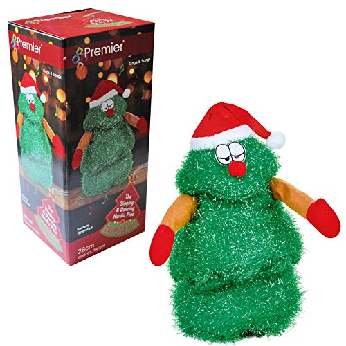 Widdle Wonderland 28cm Musical Singing Dancing Norbert Christmas Tree - Plays 5 Songs 5649