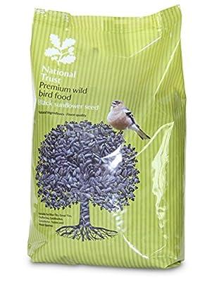 National Trust Wild Bird Food Premium Sunflower Seeds 12.75kg by National Trust Bird Foods