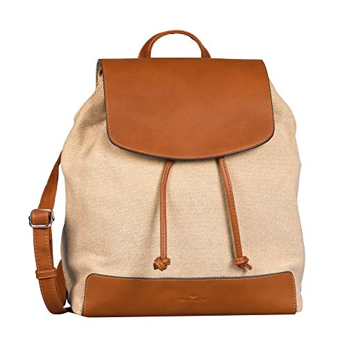 TOM TAILOR Damen INES Backpack, Mixed beige, M