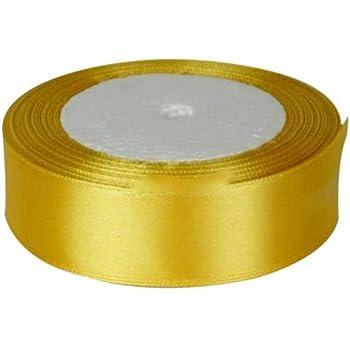25mx25mm rotolo intero-Nastro doppio raso rotolo intero colore oro