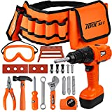 TOY Life Kids Tool Set with Kids Tool Belt & Electronic...
