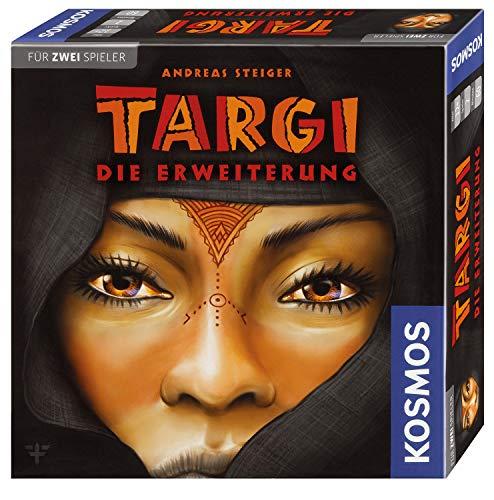 Kosmos 692643 - Targi Die Erweiterung, Mehr Spielmöglichkeiten für das beliebte Spiel für 2 Spieler, Nur zusammen mit dem Targi-Grundspiel spielbar, Brettspiel