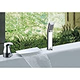 ZCYJL Bathroom Sink Faucet Slotted Bathroom Basin Sink Hot Cold...