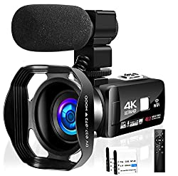 SEREE 4k Camcorder Video Camera