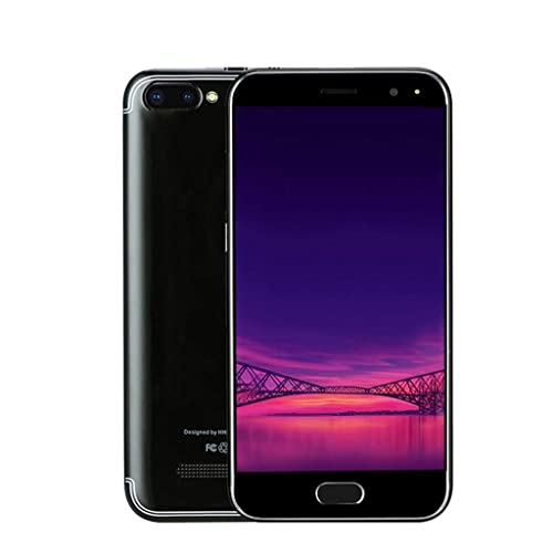 Unlocked Cell Phone, 5.0 inch Dual HD Camera Smart Phone Android 6.0 IPS Full Screen 1GB+4GB WiFi Bluetooth GPS 3G GSM/WCDMA Backup Call Mobile Phone
