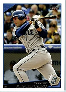 2009 Topps Baseball # 82 Miguel Cairo Seattle Mariners - MLB Trading Card