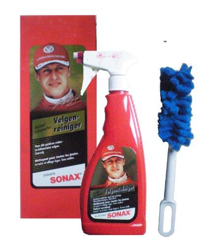 Sonax - Limpiador de llantas en spray, 500 ml Línea especial Michael Schumacher.