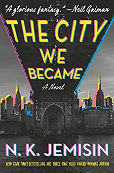 The City We Became by N.K. Jemisin science fiction and fantasy book and audiobook