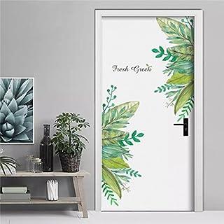 Pegatina Vinilo floral para puertas, cocinas, baños,