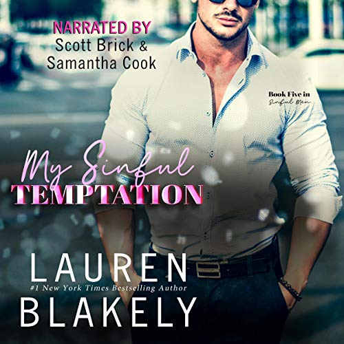 My Sinful Temptation Audiobook By Lauren Blakely cover art