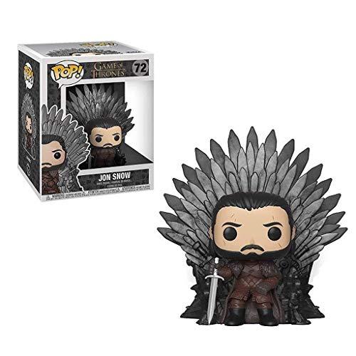 C S Jon Snow met Iron Thrones afbeelding van de Koning van het Noorden Game of Thrones Figure Vinyl POP