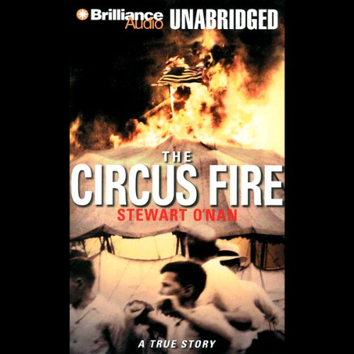 The Circus Fire audiobook cover art