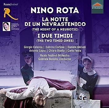 Rota: La notte di un nevrastenico & I due timidi (Live)