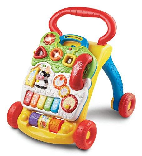 VTech Baby - Correpasillos andandín 2 en 1, multicolor, versión alemana