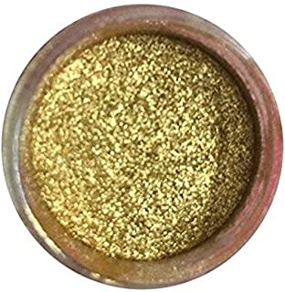 GOLD HIGHLIGHTER DUST (7 GRAMS) (7 grams Net. container) Cake, Topper by Oh! Sweet Art Corp