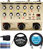 BOSS VE-8 Acoustic Singer Guitar Vocal Processor with 48V Phantom Power Bundle with AC Adapter,...