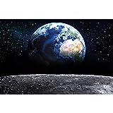 GREAT ART® XXL Poster – Blick auf die Erde aus dem