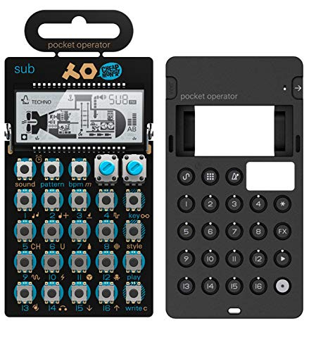 Teenage Engineering PO-14 Pocket Operator Sub Bass Synthesizer with Integrated Stand Mount Bundle with CA-X Generic Silicone Case