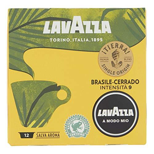 Lavazza A Modo Mio Brasile-Cerrado, Cereja Passita, Kaffee, Kaffeekapseln, Arabica, 12 Kapseln