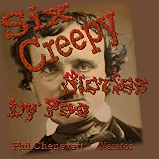 Six Creepy Stories by Poe audiobook cover art