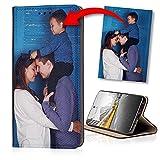 KX-Mobile Personalisierte Hülle für LG Velvet Handyhülle Smart Magnet mit deinem eigenen Motiv Bedrucken - Dein eigenes Bild Selfie Design Motiv Foto
