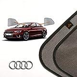 Cortinillas Parasoles Coche Laterales Traseras a Medida para Audi A4 (5) (B9) (2015-presente) Sedán