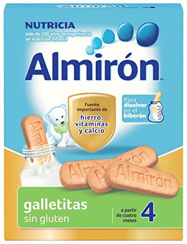 Almirón, Galletas para Bebé Sin Gluten, a partir de 4 Meses, 250g