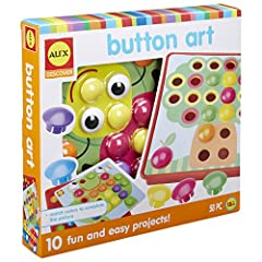 Match and snap to complete the picture Develops hand eye coordination, fine motor skills and creative thinking Convenient storage tray holds all pieces Includes 46 colorful buttons, 10 different pictures and a 2 Piece storage tray Recommended for chi...
