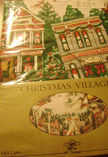 Bucilla Stamped Cross Stitch Kit to All A Good Night Christmas Napkins Set of 4