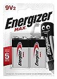 Energizer Max 9V Alkali Batterien, 2 Stück